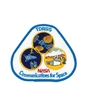 "Emblema  ""TDRSS/ NASA/ Communications for Space"""